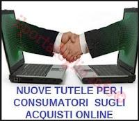 diritti dei consumatori per gli acquisti online