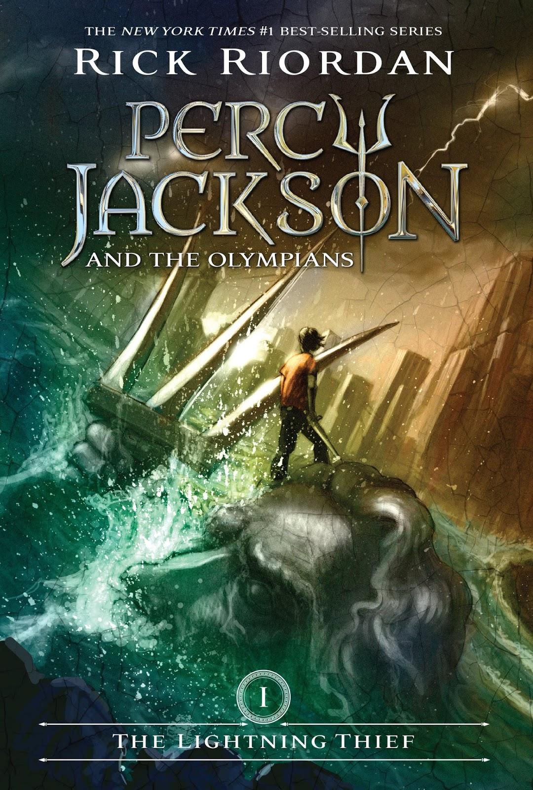 Rick Riordan - Percy Jackson the Olympians - THE LIGHTNING THIEF