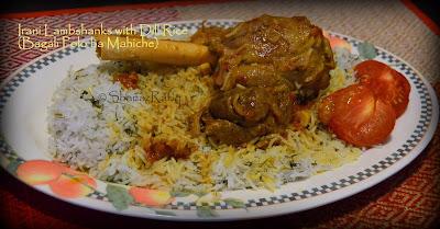 Iranian Lamb Shanks with Dill Rice