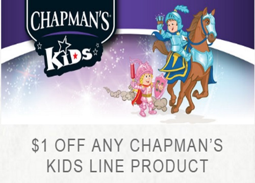 Chapman's Kids Product Coupon