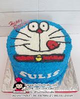 Kue Tart Kepala Doraemon Buttercream