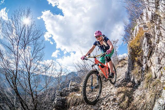 trail bike schwangerschaft mtb gardasee biketouren MTB Gardasee Trails Cima Tignalga