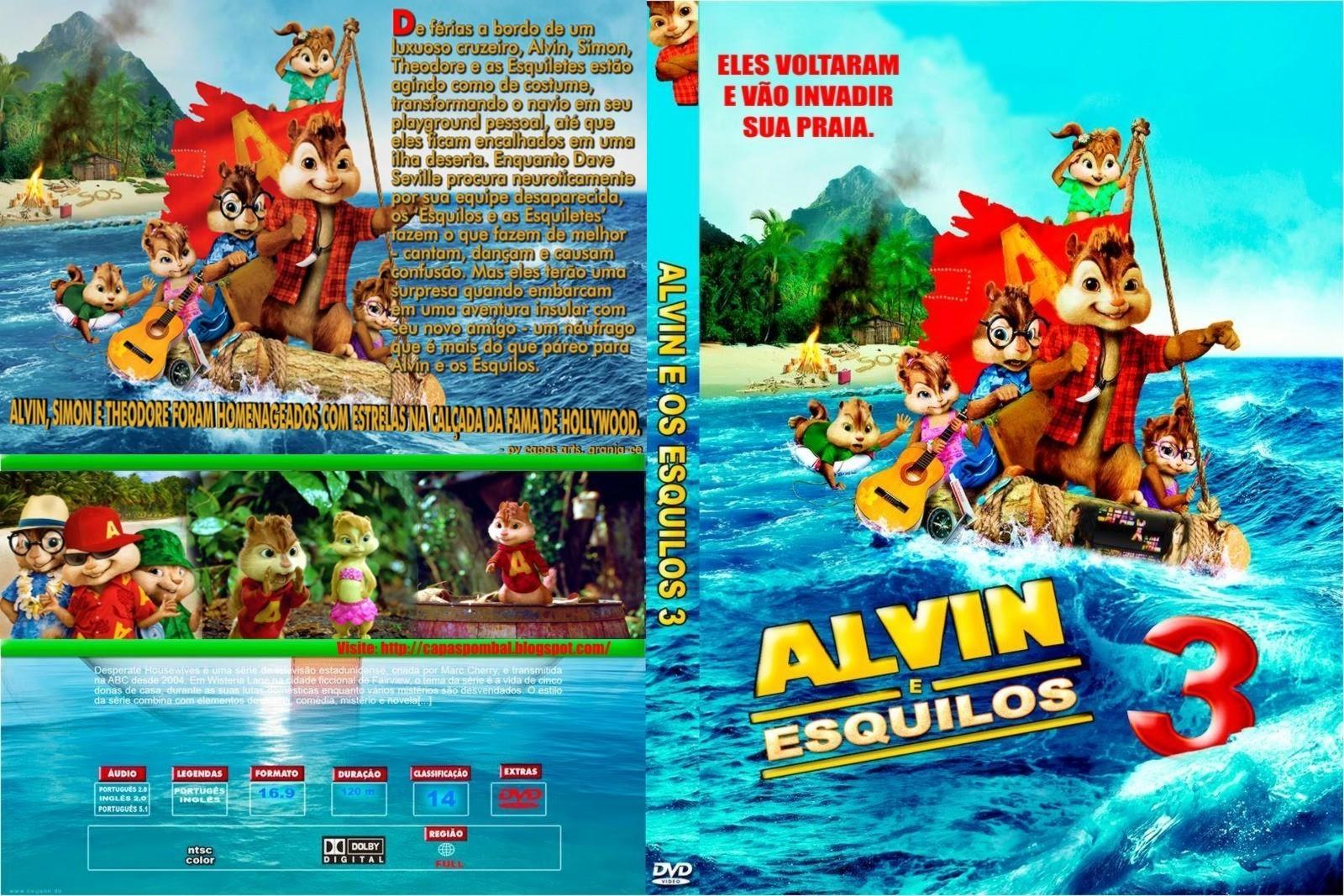 3gpcell covers alvin e os esquilos 3