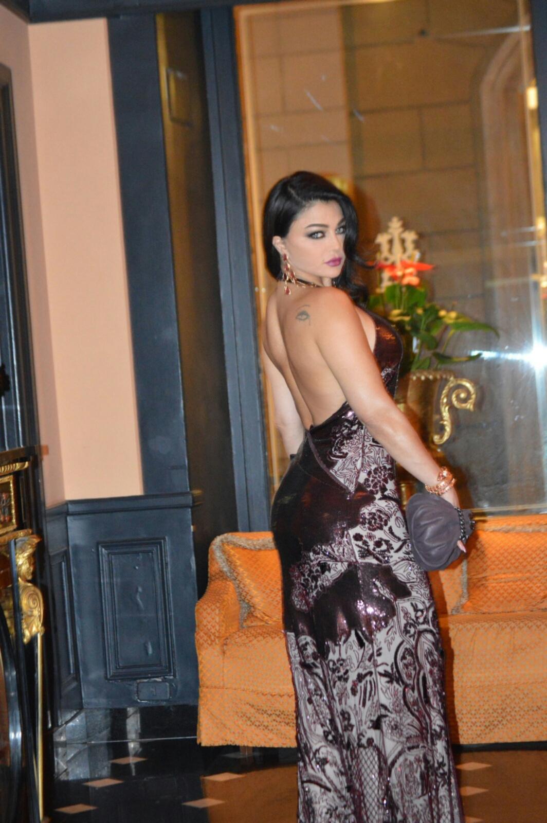 Haifa Wehbe Fashion And Jewelry Haifa Wehbe In Rome For