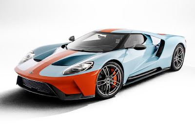 Ford GT Heritage Edition (2019) Front Side