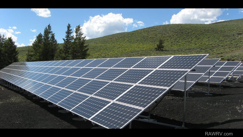 raw rv solar panels