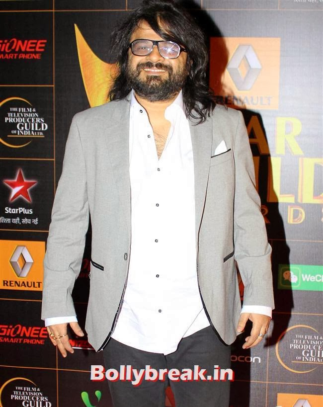 Pritam, Star Guild Awards 2014 Pics