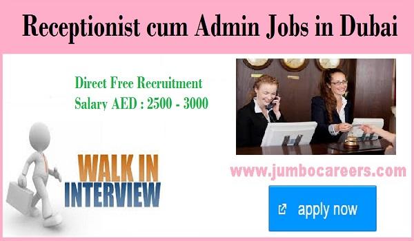 Current Walk in interview jobs in UAE, Recent job openings in Dubai,