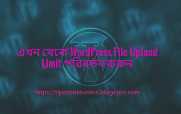 WordPress File Upload Limit, WordPress File Upload Limit change, change WordPress File Upload Limit, change File Upload Limit from WordPress,