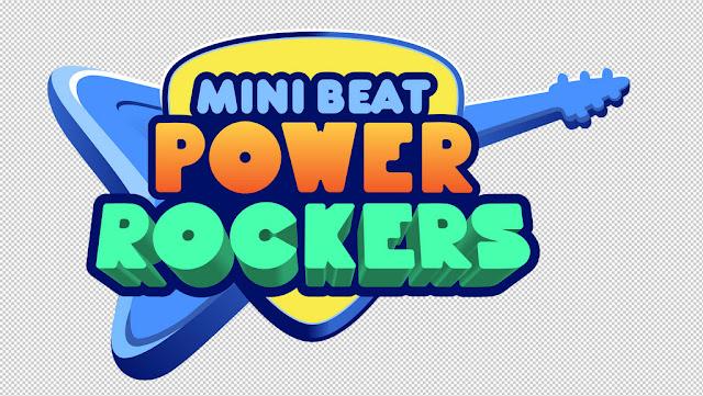 Llega a Discovery Kids Mini Beat Pawer Rockers, la banda musical que hará vibrar a toda la familia