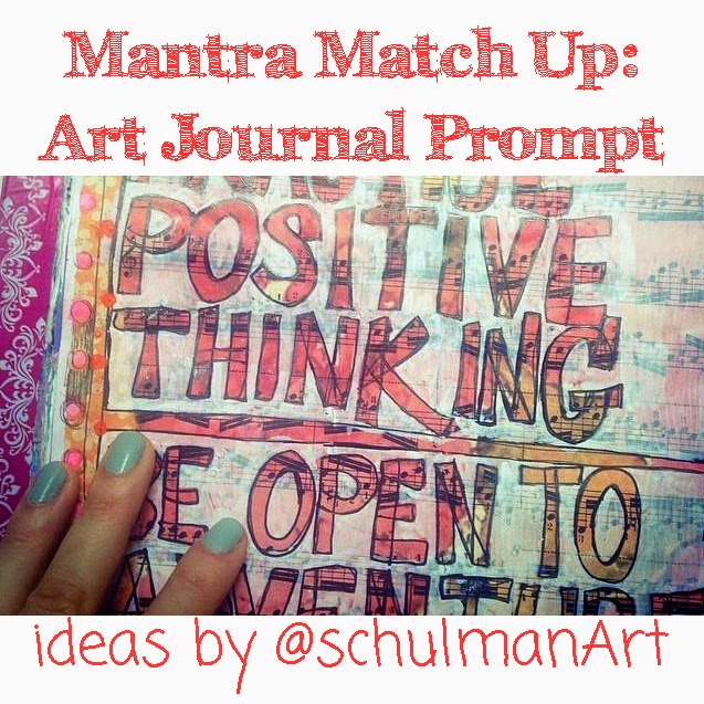 art journal pages | art journal ideas | art journal