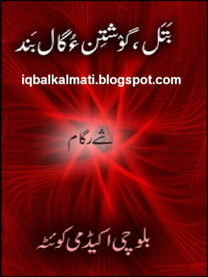 Balochi Proverbs And Sayings And Their Meanings Book