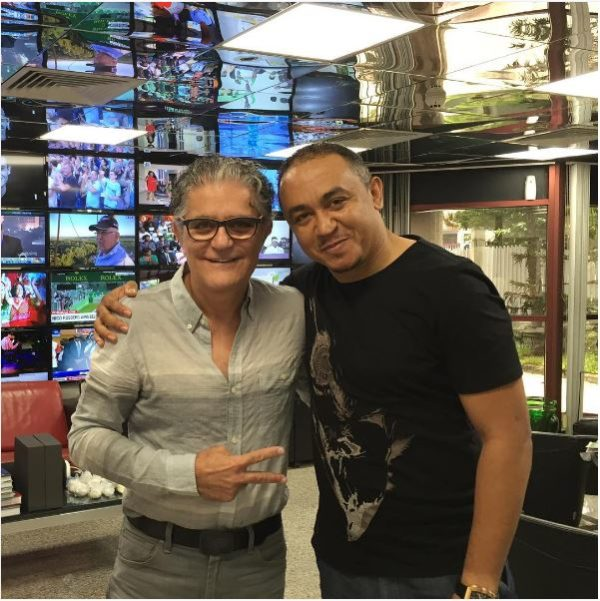 freeze takes picture with cool fm owner Moussalli