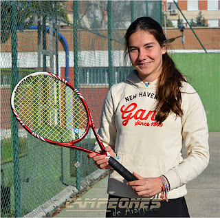 Tenis Aranjuez - Kristina Krasimirova