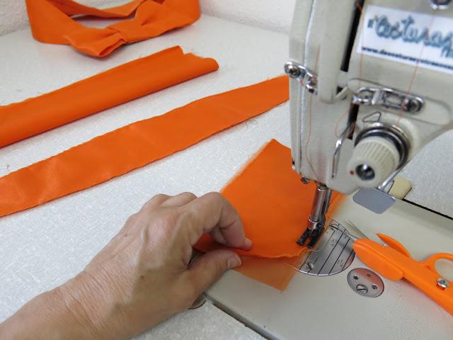 como hacer un cinturón terminado en un lazo
