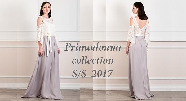 939ab070a5c2 Γυναικεία μόδα by Primadonna   Maxi φόρεμα έξωμο με δαντέλα