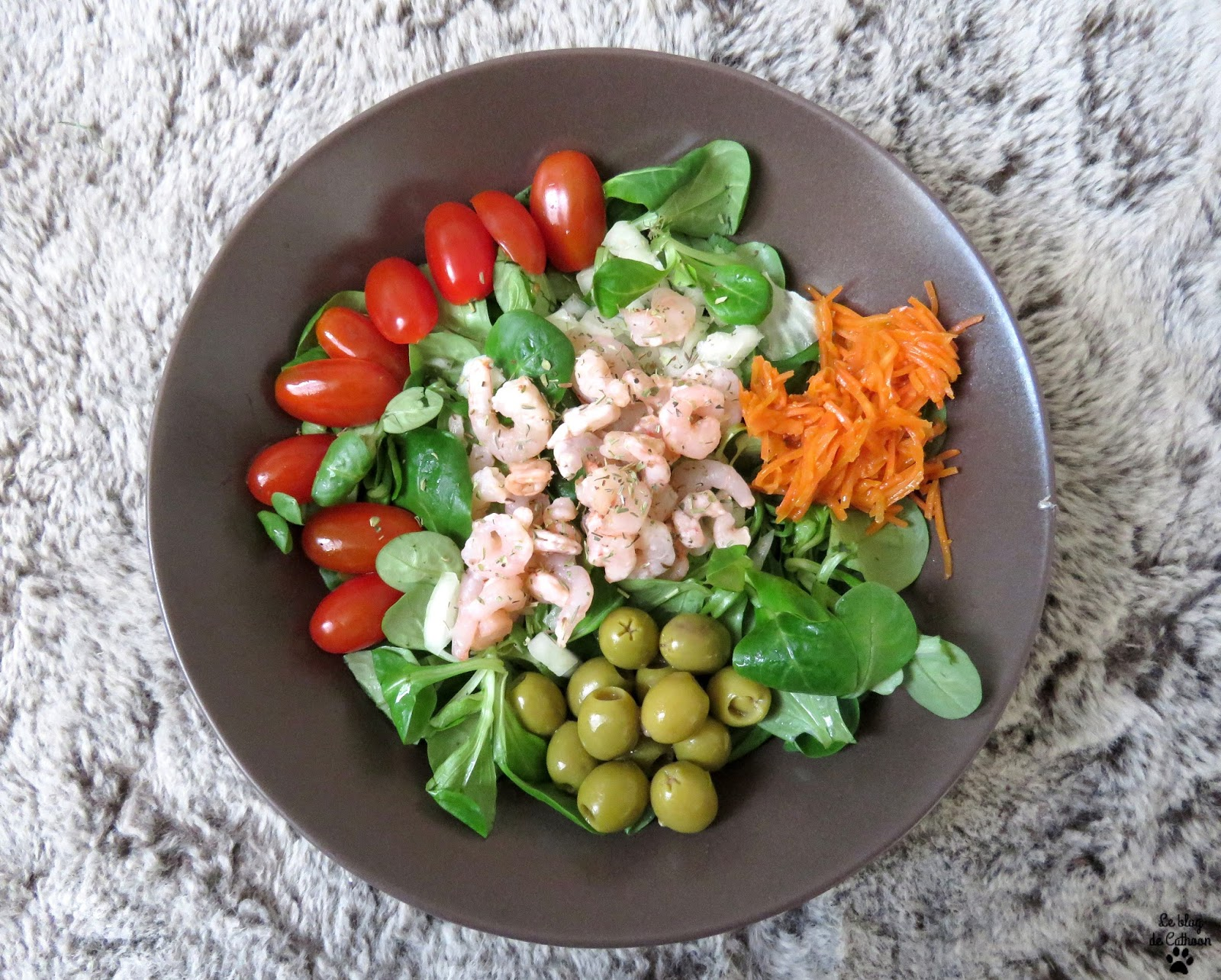 recette salade de l'océan