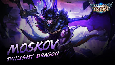 Moskov Epic Skin Twilight Dragon Mobile Legends