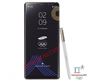 Check Out the Galaxy Note 8 special edition 'Winter Olympics'