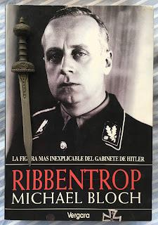 Portada del libro Ribbentrop, de Michael Bloch