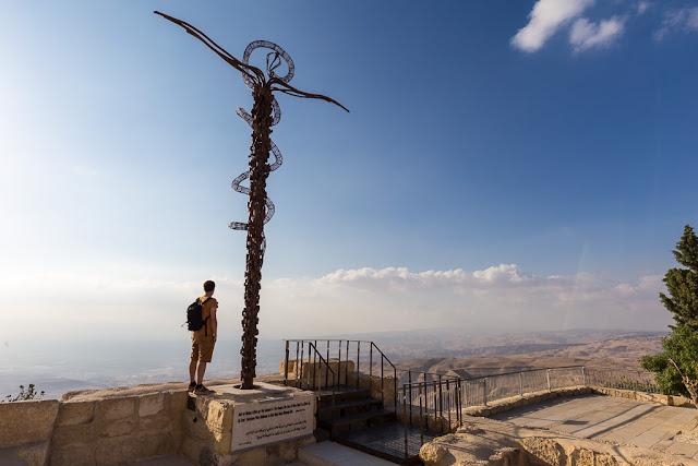 Vistas desde el Monte Nebo, Jordania