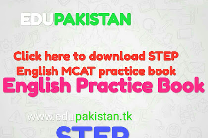 STEP English MCAT practice book