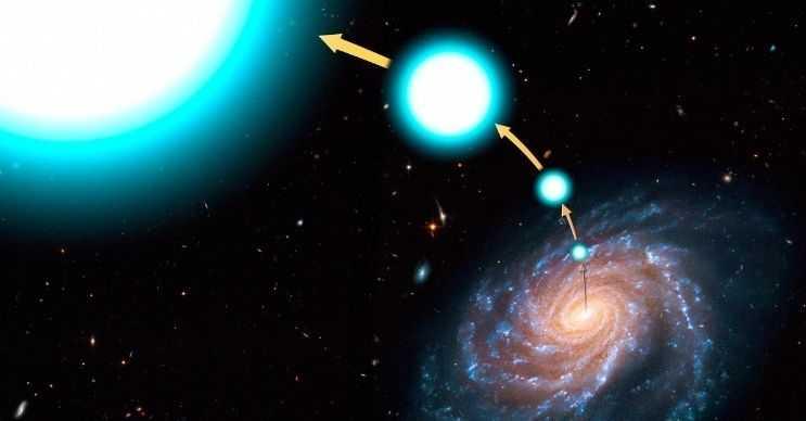 Yıldız oluşturan kara delikler, genelde süpernova patlamalarına neden olan yıldızlar yaratır.