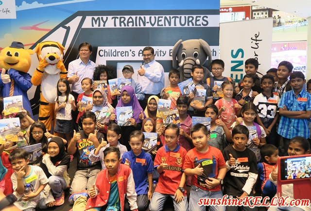 MRT Sungai Buloh- Kajang 'My Train-Ventures' Children's Activity Book