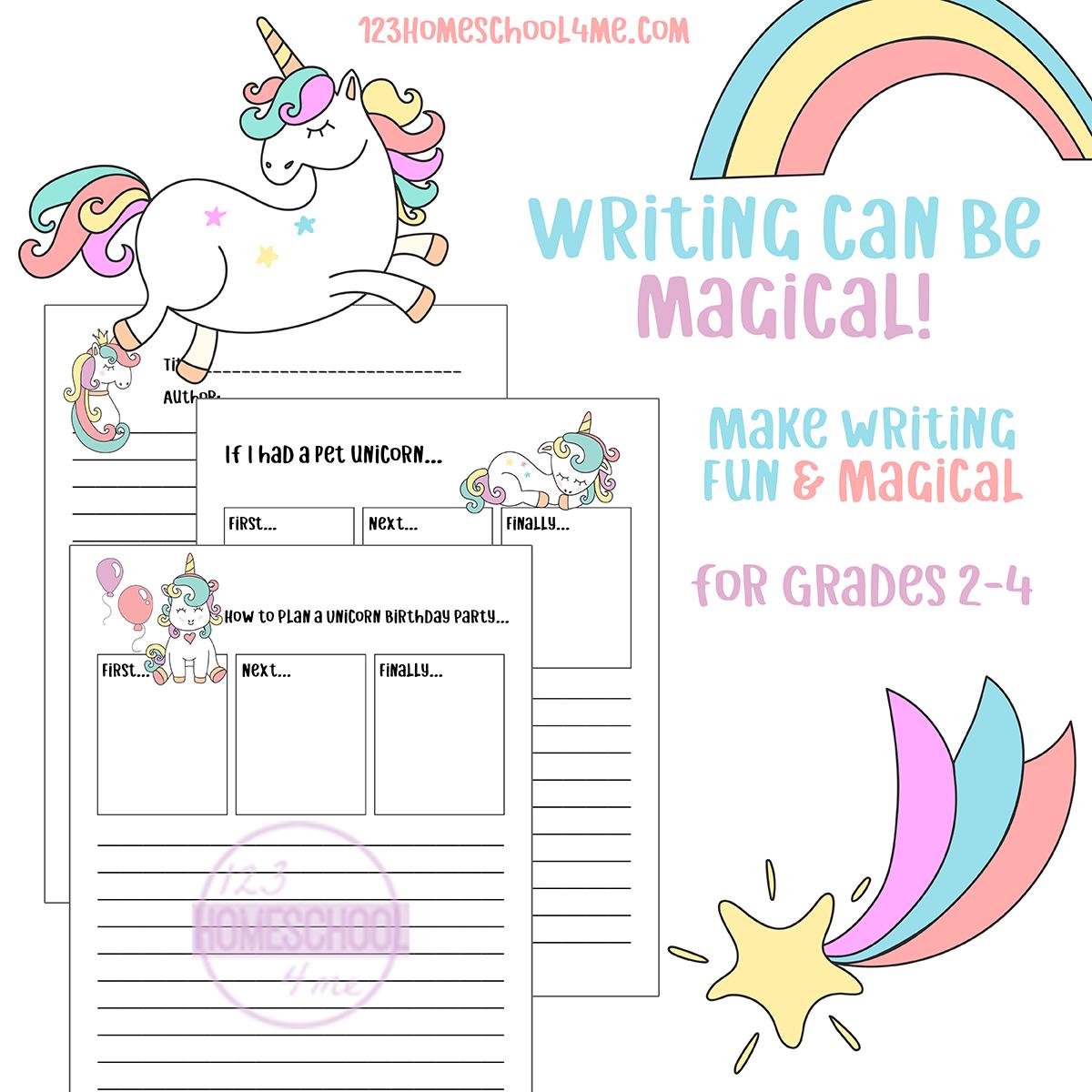 Free Unicorn Writing Prompts