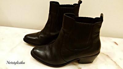 skórzane kowbojki River Island najmodniejsze buty jesień 2016 stylowe buty netstylistka polska blogerka