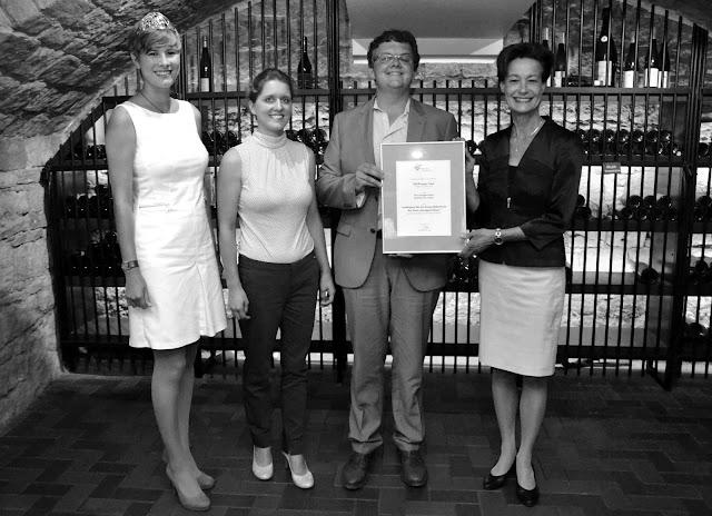 Sonderpreis Bester Bukettwein für das Weingut Gänz aus Hackenheim