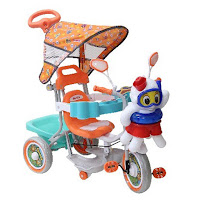 Sepeda Roda Tiga Family F943KT Octopus