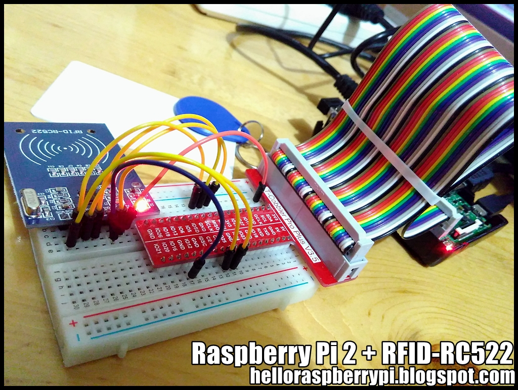 Hello Raspberry Pi: Raspberry Pi 2 + MFRC522-python, to read