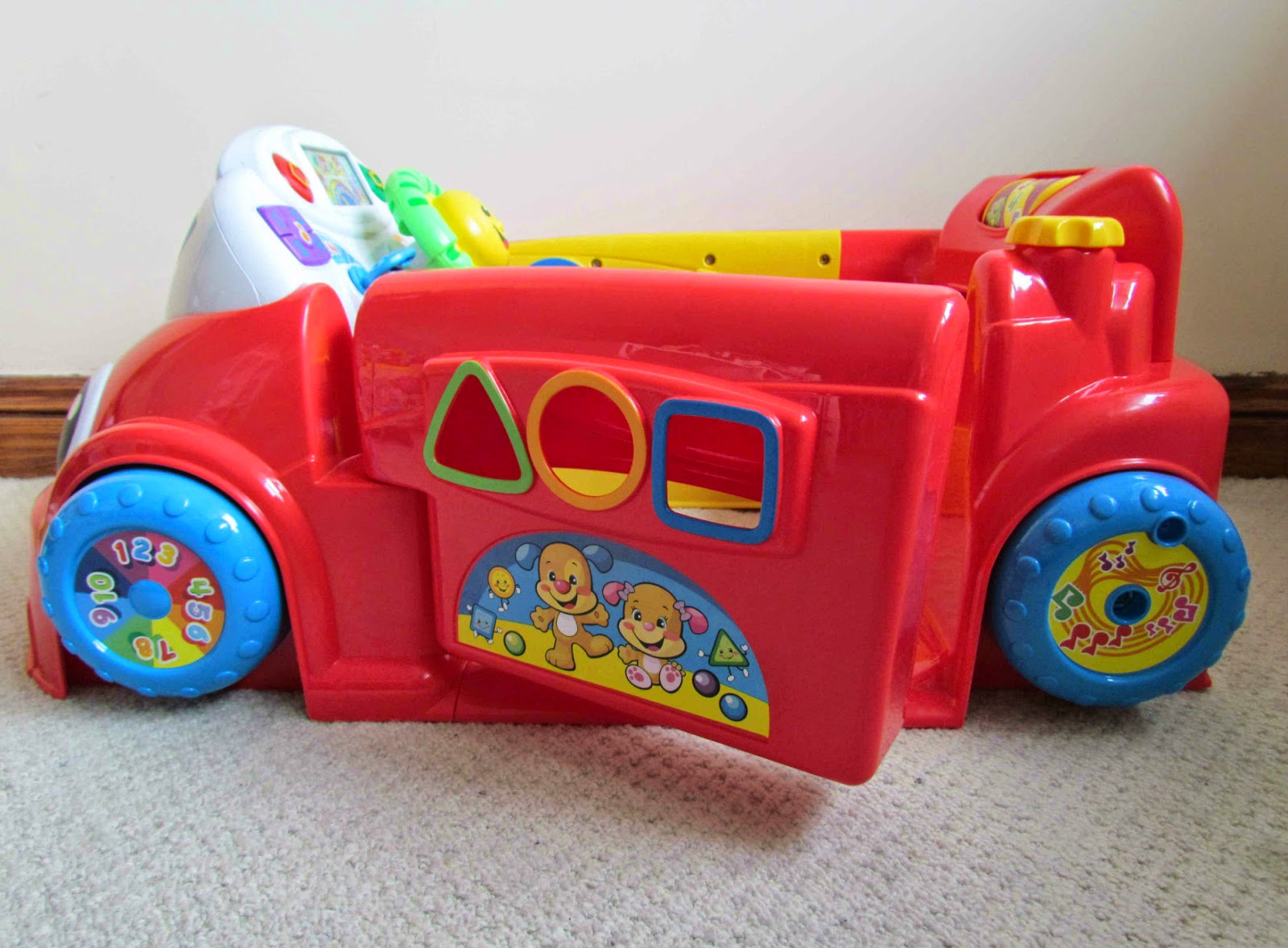 Kohl's: Fisher-Price Laugh & Learn Stride-to-Ride Learning ...  |Fisher Price Laugh And Learn Cars