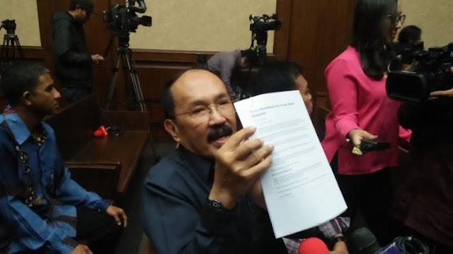 Kata Fredrich Oknum KPK Telah Menyekapnya