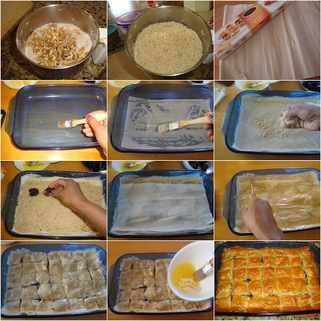 images of Baklava Recipe / How to Make Baklava / A Middle Eastern Dessert