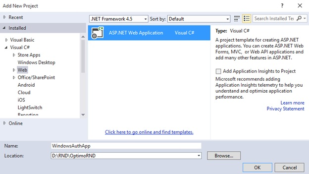 Windows Authentication ASP Net MVC 4 |  net tips and tricks