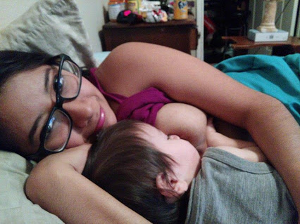 A mother from Texas has built a significant following on social media worldwide by putting up breast-feeding support videos.  Rosemarie, George Town, Texas, has two children, a toddler Noah and an older child Ebin, who is five. She says she has been breast-feeding over last five years.