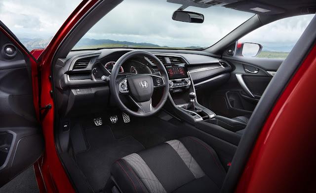 Novo Honda Civic Si 2018 - painel