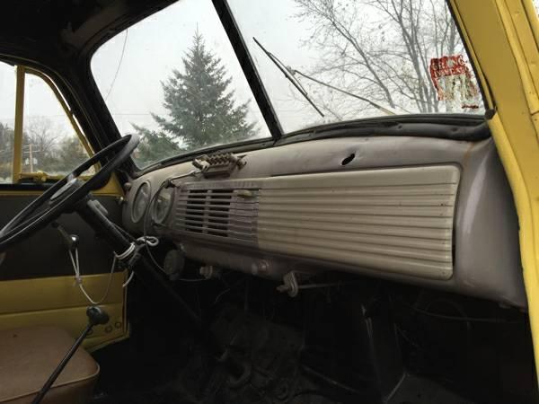 Gmc Bcoe Truck Interior Cabin