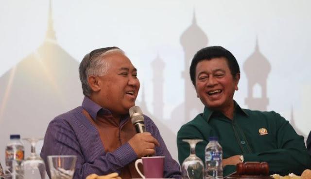 Din Syamsuddin Siap Jadi Cawapres Jokowi