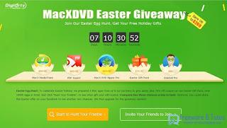 Giveaway : 4 logiciels Mac commerciaux gratuits pour Pâques !