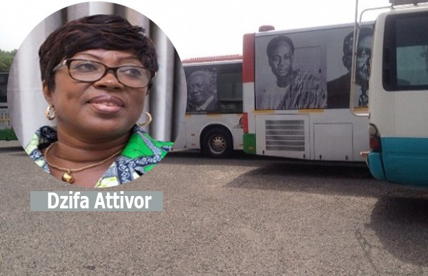 Minister hot over Gh¢3.6m bus branding