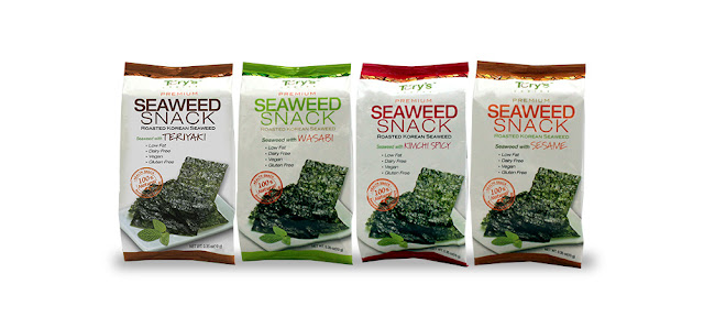 Things to buy in Korea - Dried Seaweed Snack