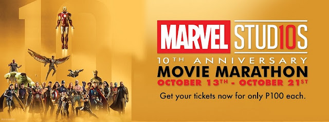 The Marvel Studios 10th Year Anniversary Movie Marathon Comes to the Philippines from Oct 13-21, 2018