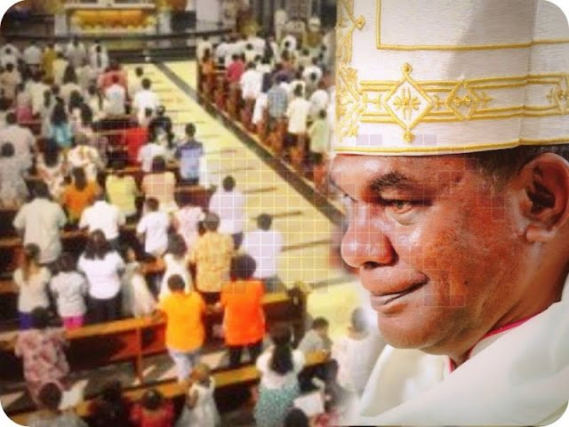 John Philip Saklil Ajak Umat Katolik Mimika Hormati Perbedaan