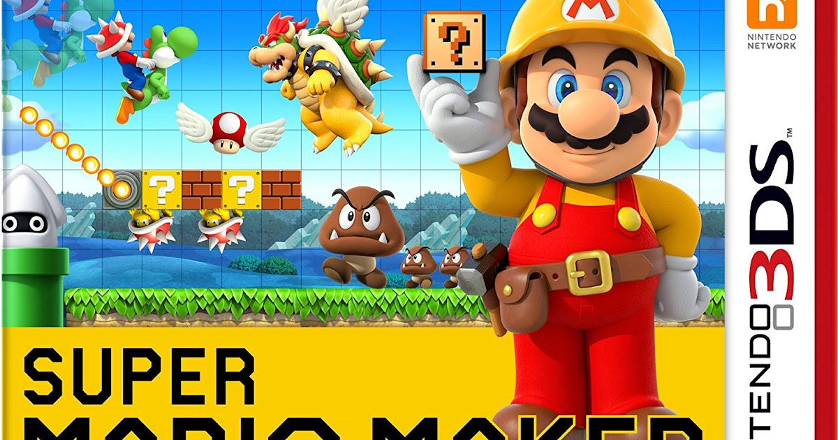 Super Mario Maker for Nintendo 3DS | Download 3DS CIAs