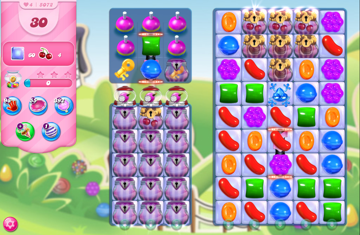 Candy Crush Saga level 5072