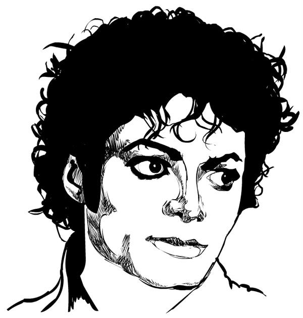 Desenhos do michael jackson para colorir - Dessin de michael jackson ...