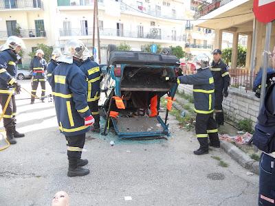 Άσκηση ετοιμότητας στην Πυροσβεστική Υπηρεσία Θεσπρωτίας
